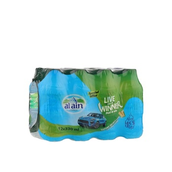 Al Ain Water 12 x 330ml @ Special Price
