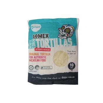Diegos Gomex White Corn Tortillas 280g