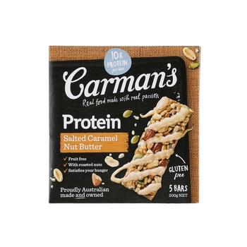 Carmans Protein Bar Salted Caramel Nut Bar 200g