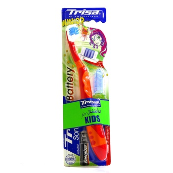 Trisa Toothbrush Battery Operated Sonic Power