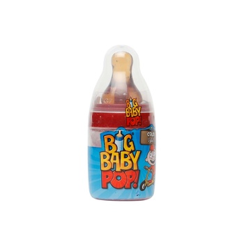 Bazooka Big Baby Pop Cola/ Blue Raspberry