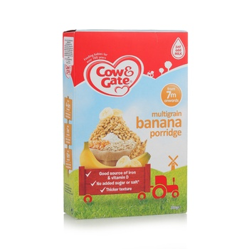 Cow & Gate M.Grain Banana Porridge 200g