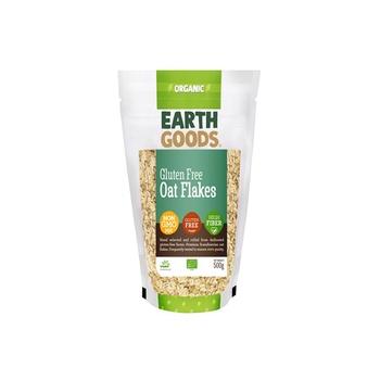 Earth Goods Org Oat Flakes Gluten-Free 500g