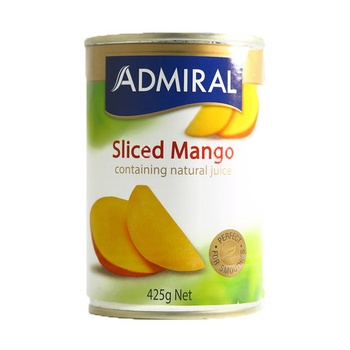Admiral Sliced Mangoes In Natural Juice 425g