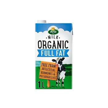 Arla Organic Full Fat Milk 1 ltr