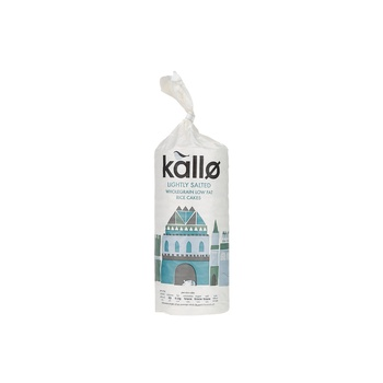 Kallo Rice Cake Low Fat 130g