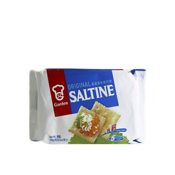Garden Saltine Original Crackers 100g