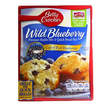 Betty Crocker Wild Blueberry Muffin Mix 479g