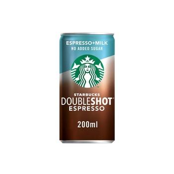 Starbucks Doubleshot No Sugar Coffee Drink Can 200ml