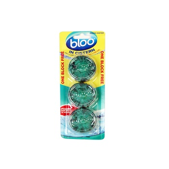Bloo In-Cistern Toilet Freshener Block 114g Pack Of 3