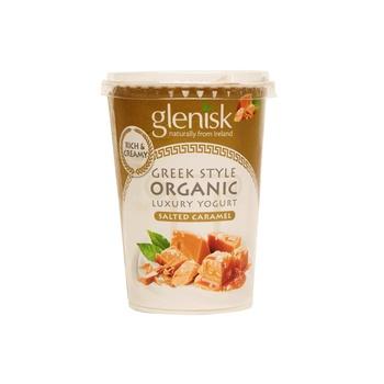 Glenisk Organic Greek Style Salted Caramel 450G