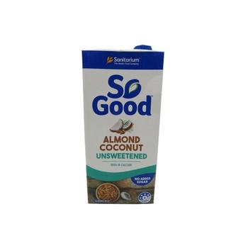 Sanitarium So Good Almond & Coconut Milk - Unsweetened 1 ltr