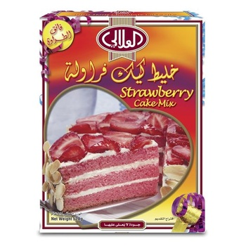 Al Alali Cake Mix Strawberry 524g
