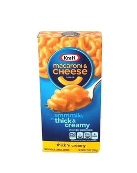 Kraft Macaroni & Cheese Thick N Creamy 206g
