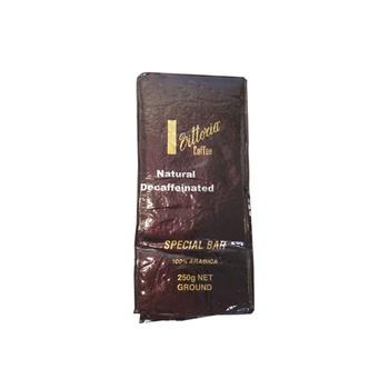 Vittoria Special Bar Ground Coffee - Decaffeinated 250g