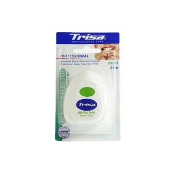 Trisa Dental Tape Super Tape Fluoride Mint 25mtr