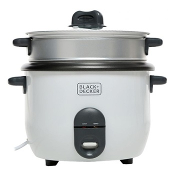 Black & Decker Rice Cooker 1.8 Liter- RC1860- B5