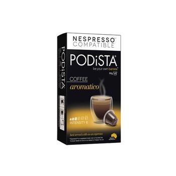 Podista Coffee Aromatico 50gm(10pk)
