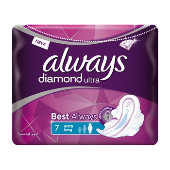 Always Ultra Diamond Sensitive 7s