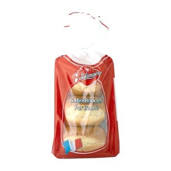 La Boulangere Mini Brioches Pur Beurre (Mini Pure Butter Buns)  270g