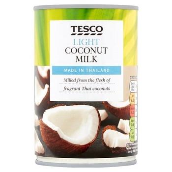 Tesco Lght Coconut Mlk 400Ml