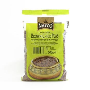 Natco Kala Chana Brown Chick Peas 500g
