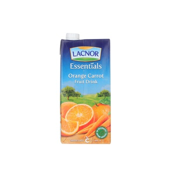 Lacnor Essentials Orange & Carrot Fruit Drink 1ltr