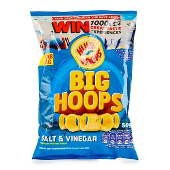 KP Hula Hoops Salt & Vinegar 50g