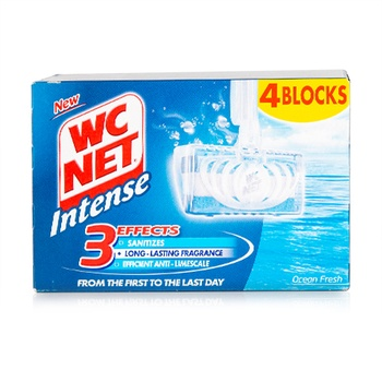 Wc Net Ocean Fresh Toilet Block 4 Pieces Blue