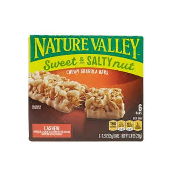 Nature Valey Sweet &S alty Cashew 7.4Oz
