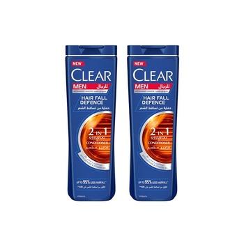 Clear Men Shampoo Hair Fall Defense 400ml Pack of 2