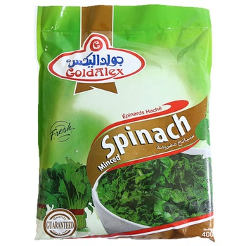 Cold Alex Minced Spinach 400g