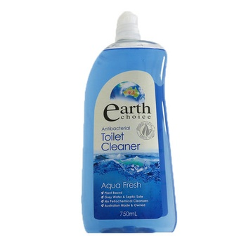 Earth Choice Toilet Cleaner Anti Bacterial Aqua Fresh 750ml