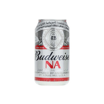 Budweiser Non-Alcoholic Malt Beverages Classic Can 355 ml