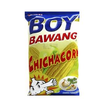Boy Bawang Chichacorn Super Garlic 100g
