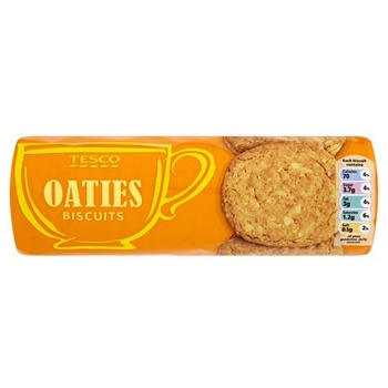 Tesco Oaty Round Biscuits 300g