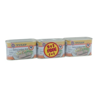Tulip Luncheon Meat Chicken 3 x 200g
