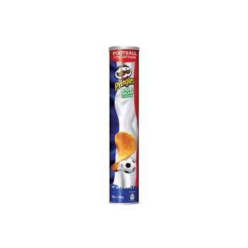 Pringles Tube Eurocup Sour Cream France 165g Pack Of 3