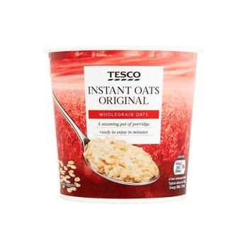 Tesco Original Porridge Pots 55g