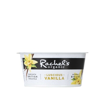 Rachel's Organic Luscious Vanilla Yogurt 150g