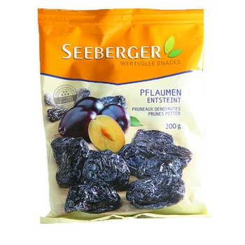 Seeberger Pitted Prunes 200g