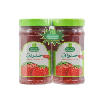 Halwani Jam Strawberry 400g Pack of 2