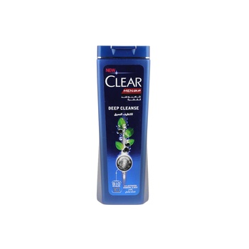 Clear Men Anti Dandruff Shampoo Deep Cleanse With Charcoal Mint 200ml
