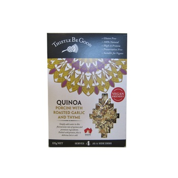 Thistle Be Good Quinoa - Porcini With Roasted Garlic & Thyme 225g