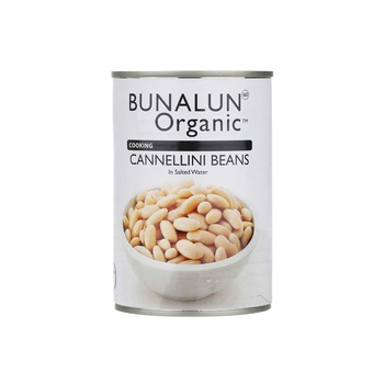 Bunalun Organic Cannellini Beans 400g