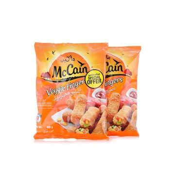 Mccain Veggie Finger 2 X 400g