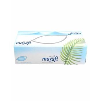 Masafi White Facial Tissues 150 x 2ply