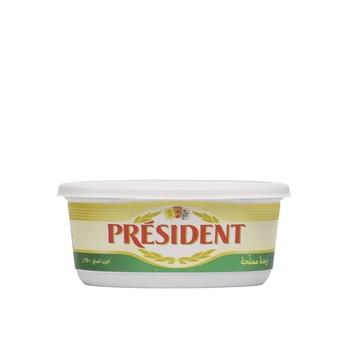 President Butter Salted 80% Fdm 250G