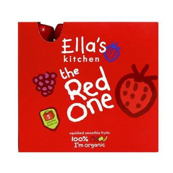 Ella's Kitchen Organic Fruit Smoothie The Red One 5x90g