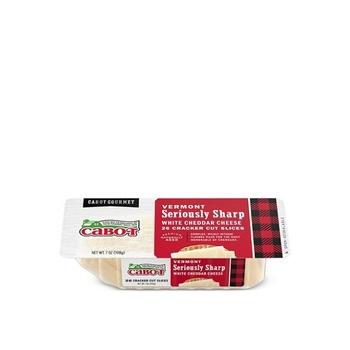 Cabot Seriously Sharp Cheddar Cracker Cuts 7oz